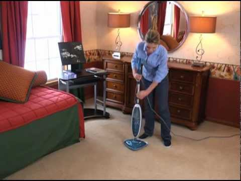 Hoover TwinTank Steam Mop Refreshing Carpets WH20200