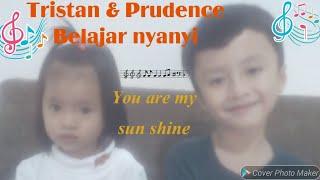 pintar bahasa inggris 😍 udah bisa lagu anak you are my sun shine - pintar nyanyi ( lucu banget )