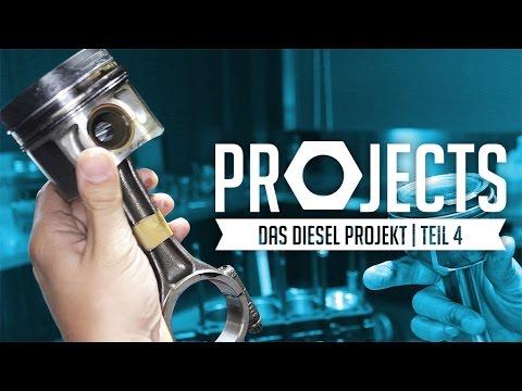 JP Performance - Das Diesel Projekt   Kolben und Pleuel   Teil 4