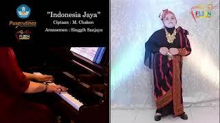 FLS2N 2021- Menyanyi Tunggal SD - Indonesia Jaya - Isyana Khazinatul Asrar - SDN 5 Langsa - Aceh