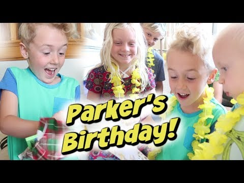 Parker's 6th Birthday!
