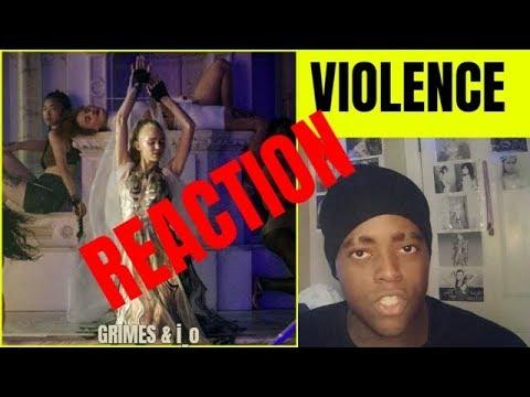 Grimes & i_o - Violence Video |REACTION|