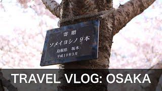 Travel Vlog : Osaka, Japan | Explore Osaka Castle, Dotonbori & more