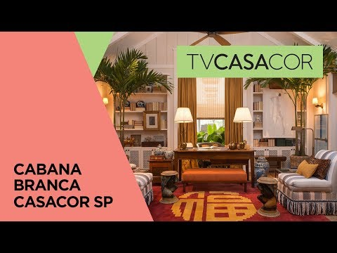 Cabana Branca de Studio GPPA na CASACOR São Paulo 2017