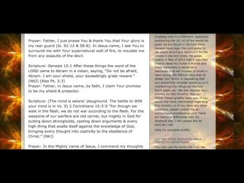 Extremely Powerful Spiritual Warfare Prayer