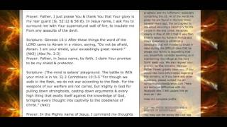 Extremely Powerful Spiritual Warfare Prayer