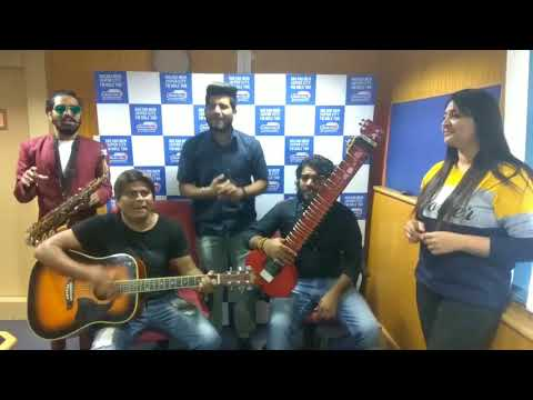 Rajasthani Folk Music Artists - Swaraag Band at Radio City Jaipur Studio