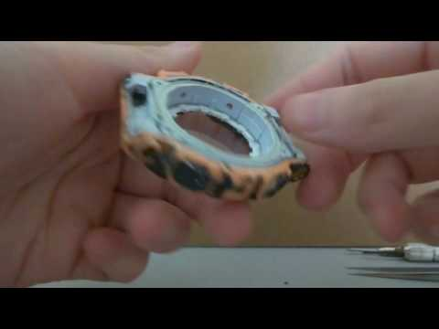 How to disassemble G-SHOCK GA-110