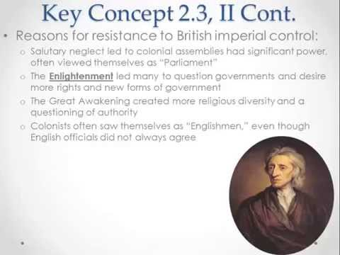 APUSH Review: Key Concept 2.3 (Period 2)