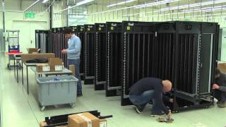 Installation of an IBM TS3500 tape lIbrary at CSCS