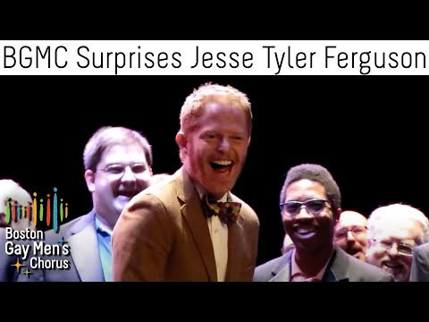 Boston Gay Men's Chorus Surprises Jesse Tyler Ferguson