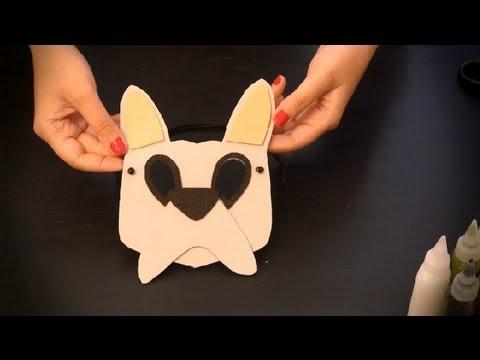 Cómo hacer un antifaz de perro : Antifaces de animales para niños ...