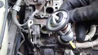 How to replace thermostat Toyota Camry. 2.2 liter engine. Years 1991 to 2002.