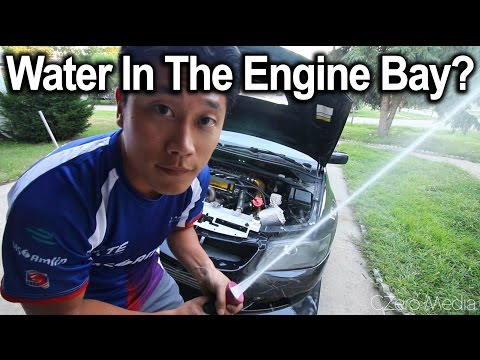 How To Wash Your Engine Bay - Evo8 edition