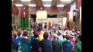 Trappenhuis school klas Tom 20130621 laatste forum schooljaar 2012-2013 part II