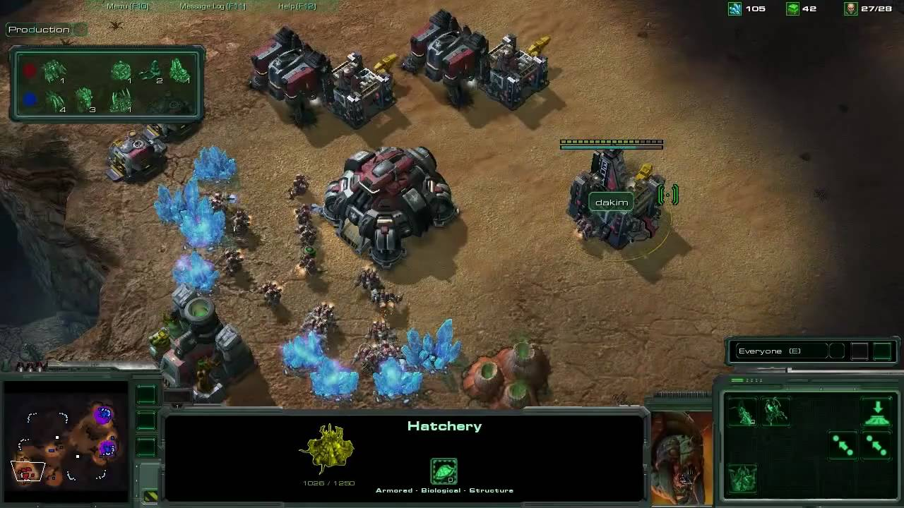 Macro in Starcraft 2 as a Terran player
