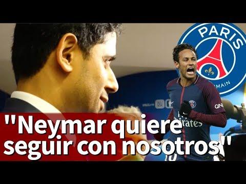 Al-Khelaifi y la posible marcha de Neymar al Real Madrid | Diario AS