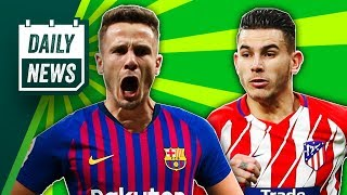 Saul Niguez to Barcelona? + Another defender rejects Manchester United ► Daily Football News
