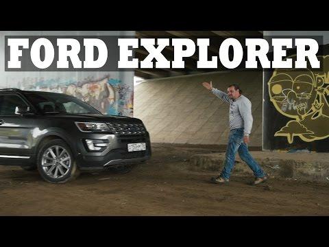 Ford Explorer Форд Эксплорер обзор, тест драйв СТОК 18