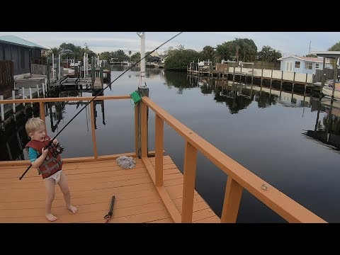 Florida Fishing & Adventure - Christmas Vacation in Cape Coral FL (Part 1 of 2)