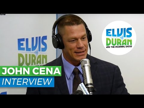 """John Cena Interview on WWE and """"American Grit"""" 