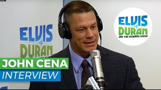 john cena interview on wwe and american grit   elvis duran show