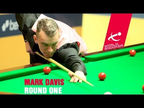 Mark Davis talks to World Snooker after defeating John Higgins