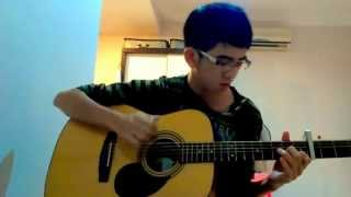 (2ne1)Lonely - Kelvin lee (sungha jung)- fingerstyle guitar 4 capo verson