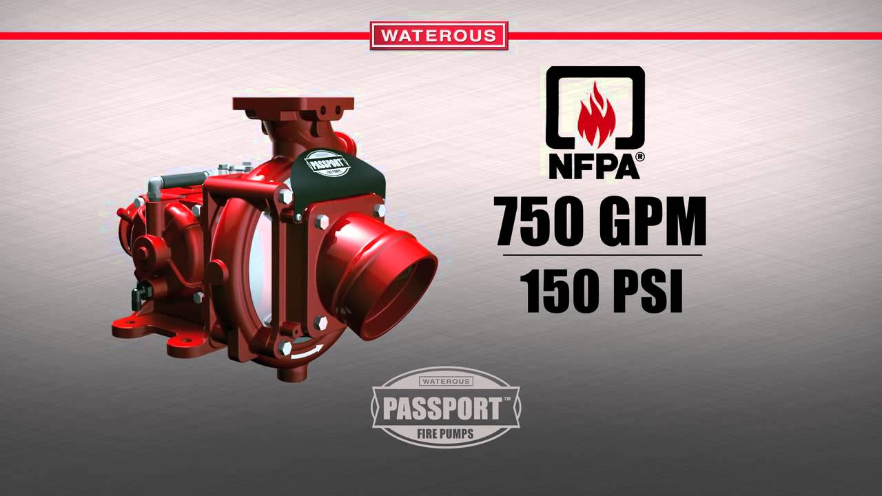 Waterous S200 - Passport Fire Pump