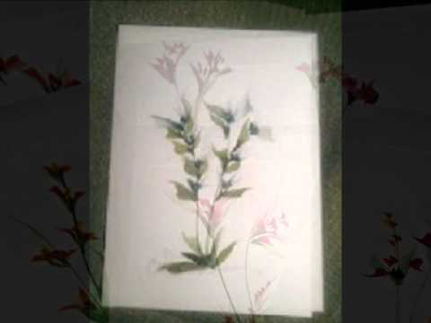C. Watson Originals hand painted cards.wmv