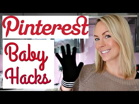 PINTEREST BABY HACKS TRIED & TESTED
