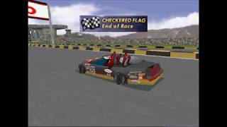 Andretti Racing Playstation 1 Nascar Track