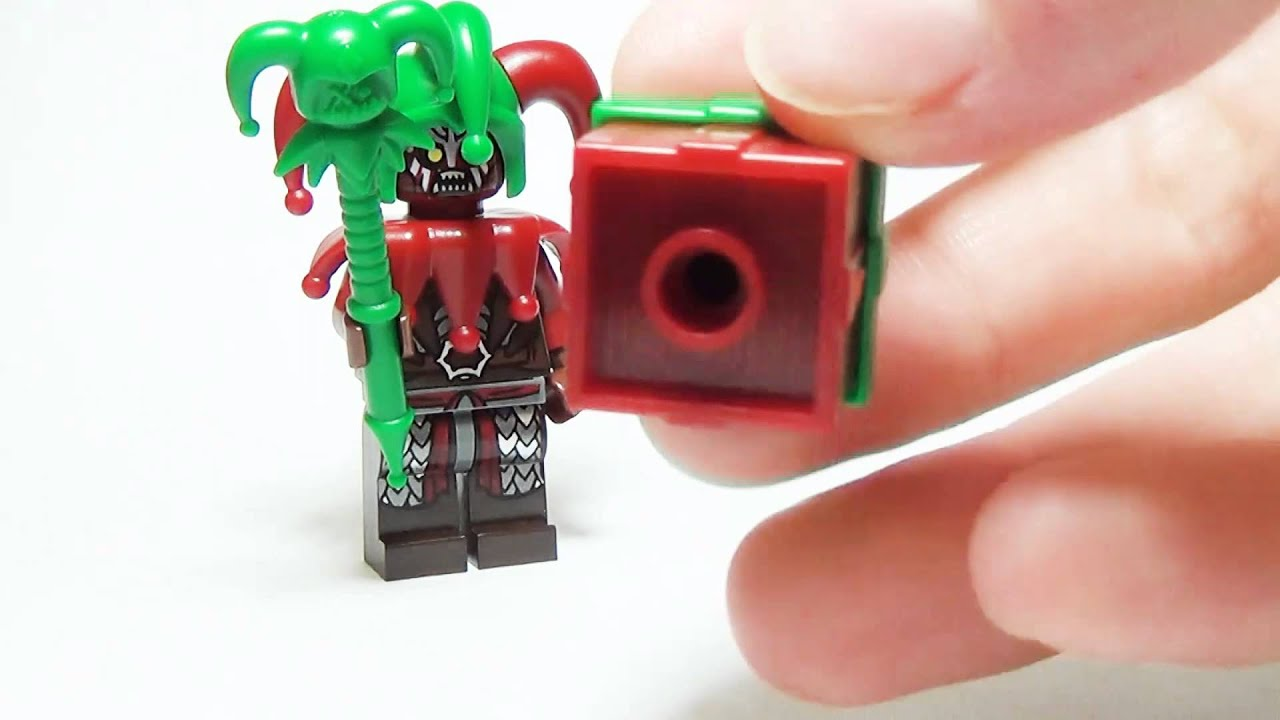 BrickWarriors Custom Lego Jester Accessories - YouTube