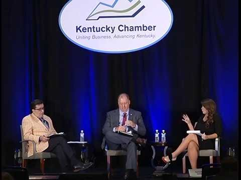 House Panel with Jeff Hoover and Brent Yonts at 2016 Kentucky Chamber Business Summit