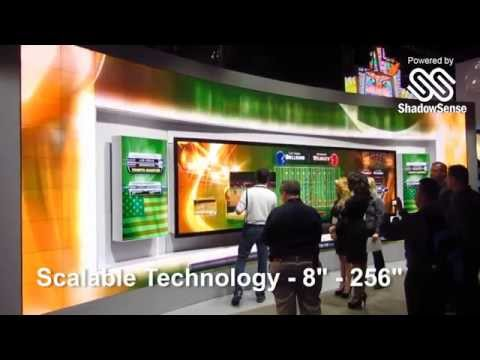 Multi Touch Screen Technology Solutions & Interactive Walls | Baanto