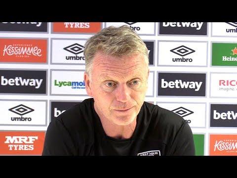 David Moyes Full Pre-Match Press Conference - Arsenal v West Ham - Premier League