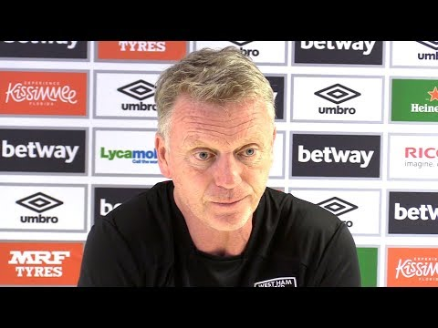 David moyes full pre-match press conference - arsenal v west ham - premier league
