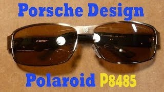 Обзор классных очков Porsche Polaroid P8485/Реплика за 10$