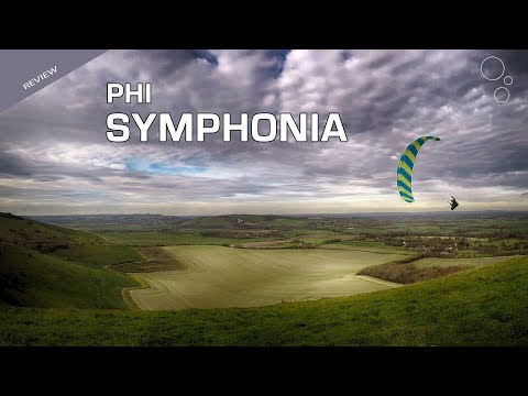 Phi SYMPHONIA (First Flight Paraglider Review)