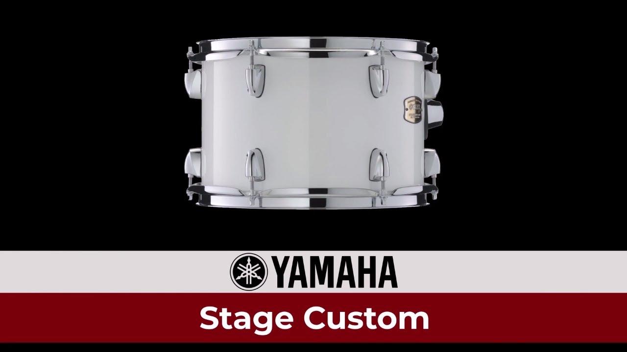 Yamaha Stage Custom Birch Drum Set Review Youtube