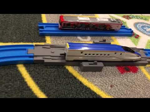 Takara tomy135 shinkansen series E7 :price tagjessie j tomica scale1188玩具火車mainan kereta api