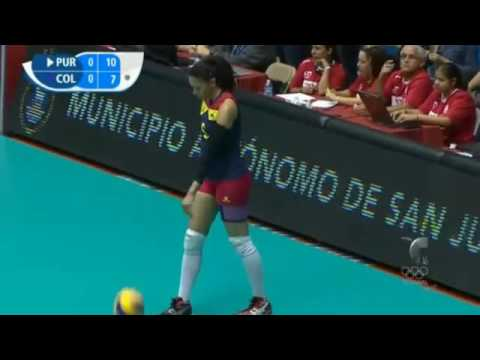 Download Today Puerto Rico vs Colombia   22 May 2016   2016 Volleyball Womens World Olympic Qualification