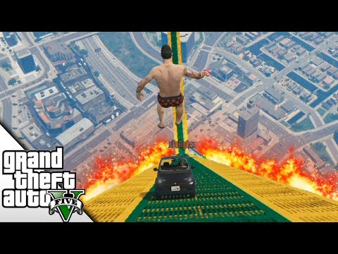 Salto desde 20 metros encima de su coche! Super rampas!   BraxXter