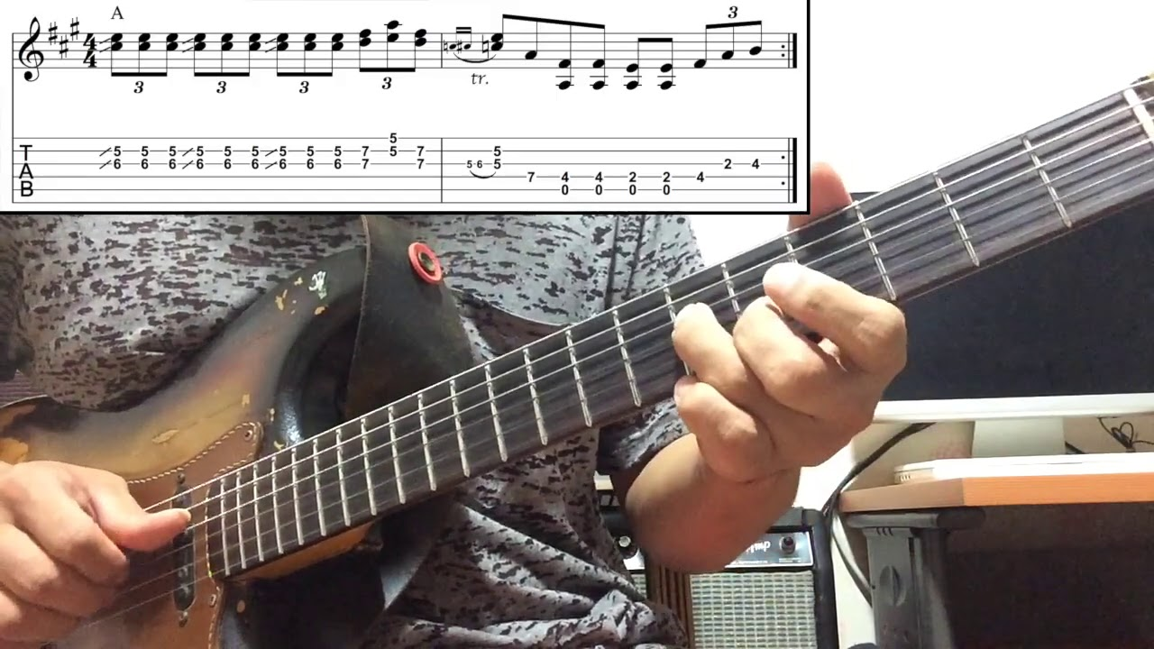 주승훈 - Low Down Dirty Blues Lick #2 : Doublestop Blues Pt.1
