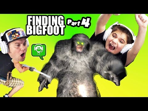 Finding BIGFOOT PART 4! We Got Him by HobbyKidsGaming