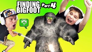Finding BIGFOOT PART 4! We Got Him by HobbyKidsGaming