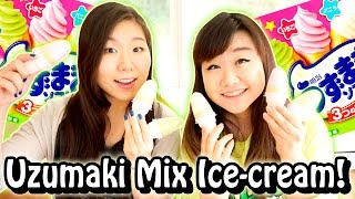 Uzumaki Mix Japanese Ice-cream Taste Test