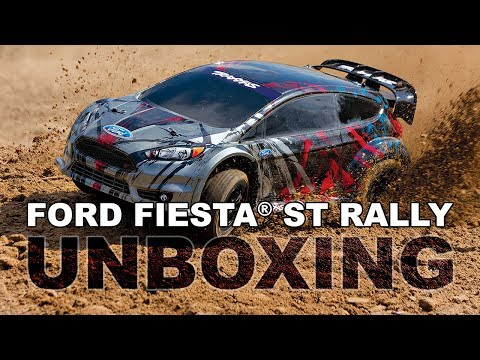 Unboxing The Traxxas Ford Fiesta ST Rally Car