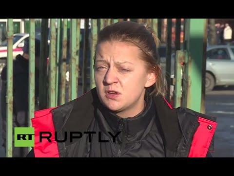 LIVE: EMERCOM psychologist briefs press outside morgue on treatment of 7K9268 victims' relatives