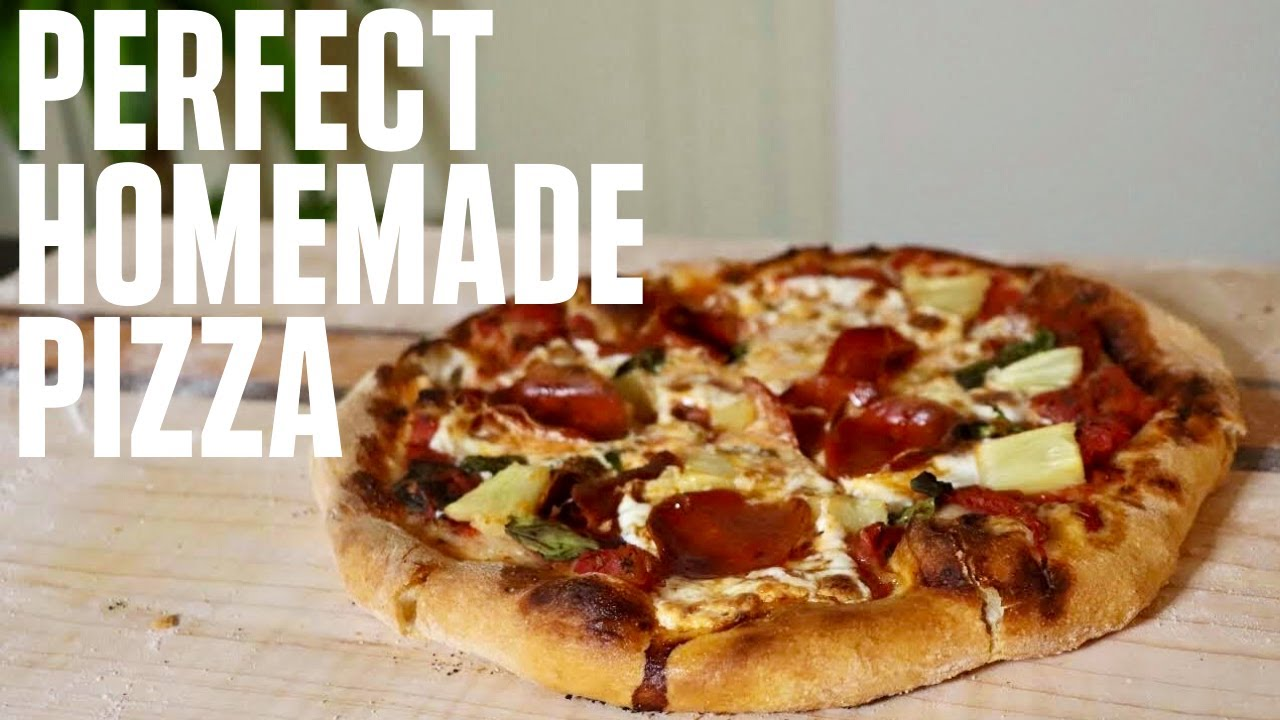 BEST HOMEMADE PIZZA RECIPE | HOW TO MAKE PIZZA FROM SCRATCH